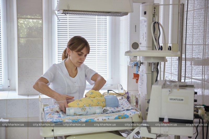 В Харькове в 2,5 раза снизилась смертность среди новорожденных