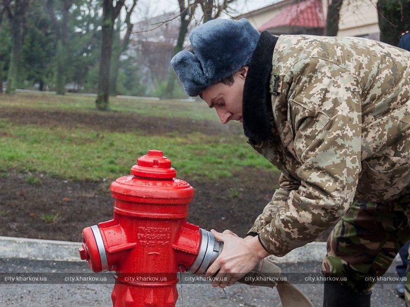 Пожарные гидранты нового образца будут установлены в городе (ФОТО)