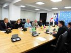 Kharkiv delegation congratulated Tbilisi with the Town Day