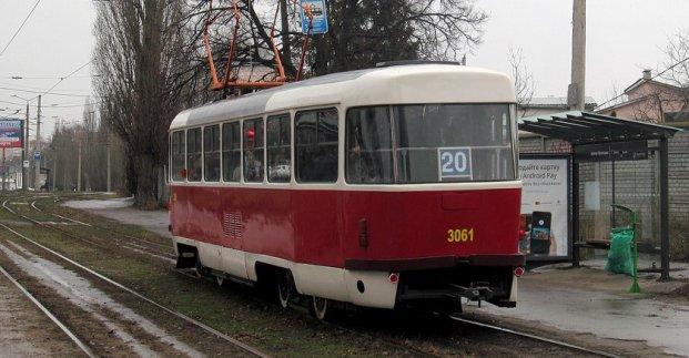 Трамваи №12 и 20 временно изменят маршруты движения
