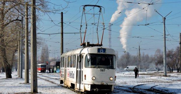 Трамваи №6 и 8 на два дня изменят маршрут
