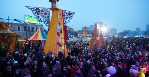 Харьковчан приглашают на площадь Свободы отпраздновать Масленицу
