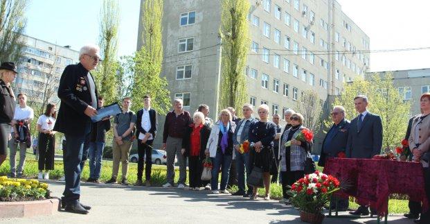 В Киевском районе почтили память ликвидаторов аварии на ЧАЭС