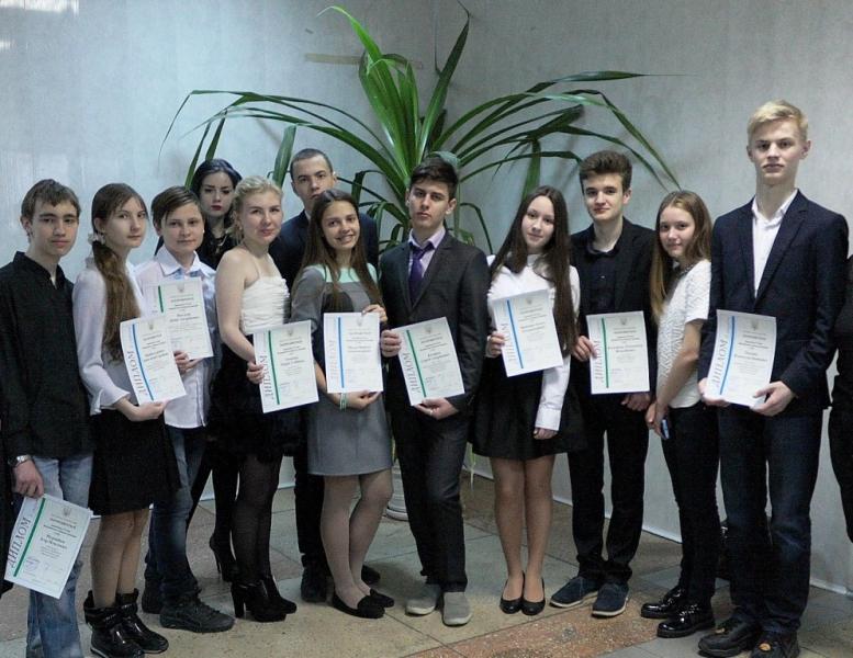 Харьковские школьники стали победителями всеукраинских ученических олимпиад