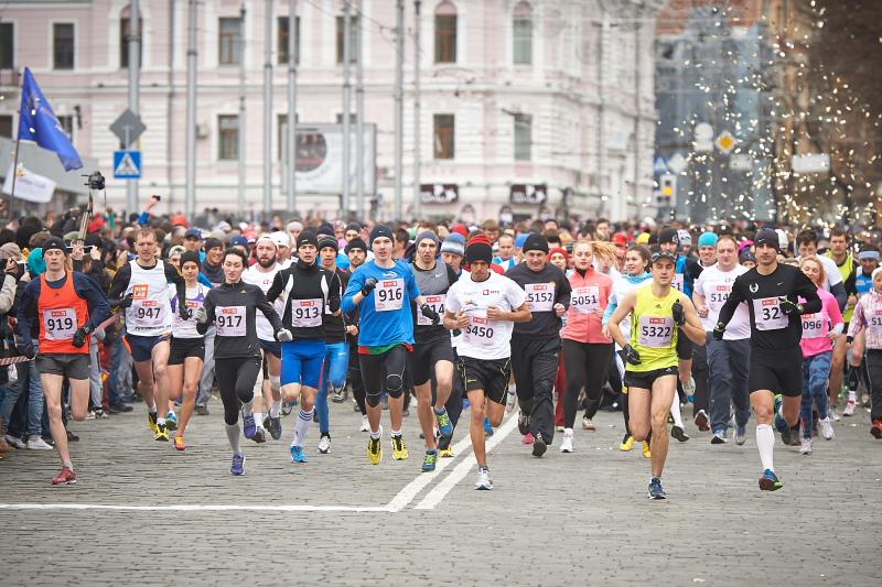 Спортсмены из Германии отметили европейский уровень Харьковского марафона