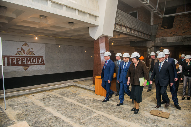 Руководитель инспекции ГАСК ознакомился с ходом строительства станции метро «Победа»