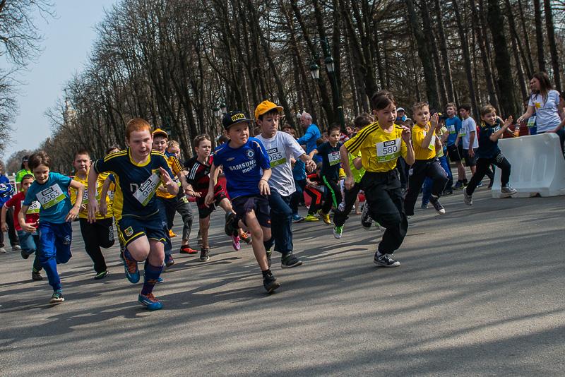 В Харькове прошел детский марафон