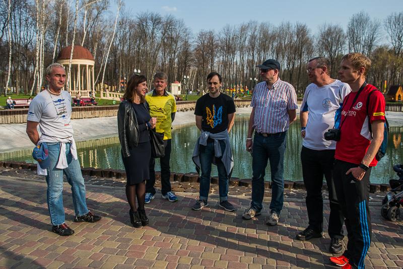 Спортсмены из Нюрнберга осмотрели достопримечательности Харькова