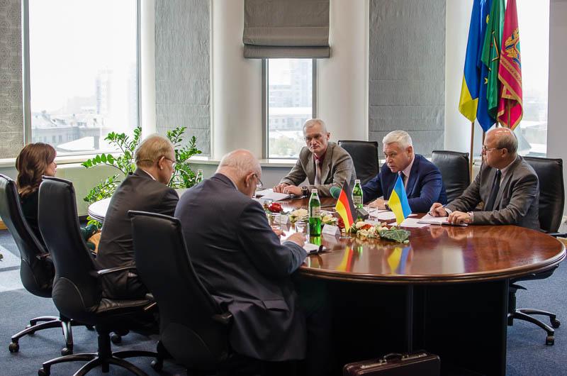 Игорь Терехов встретился с уполномоченным послом Германии