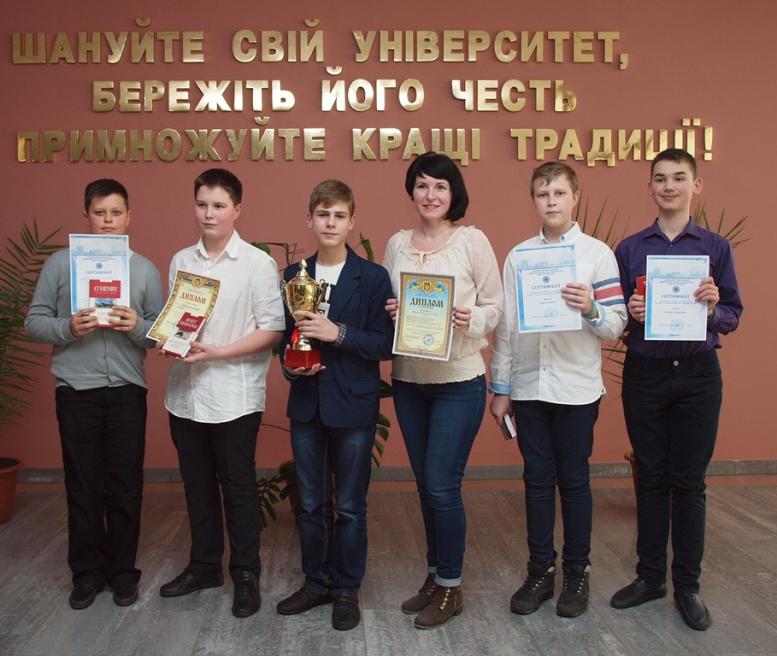 Победителями городского турнира по информатике стали ученики Киевского района