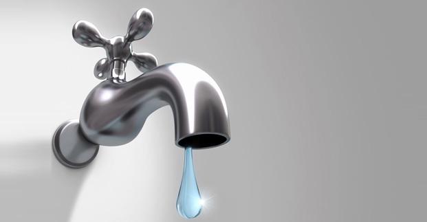 В некоторых районах города временно прекращено водоснабжение