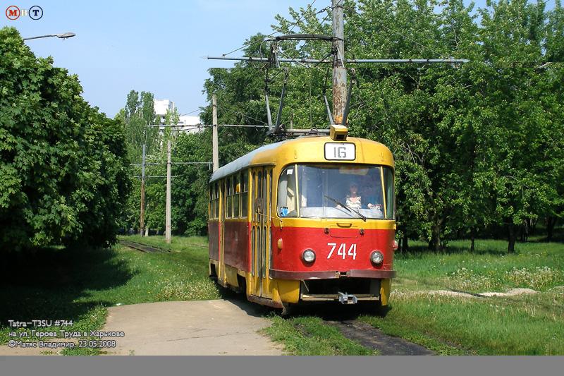 В воскресенье трамваи №16 и 16А ходить не будут
