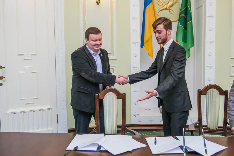 Харьковский молодежный совет начал сотрудничество с коллегами из Днепропетровска