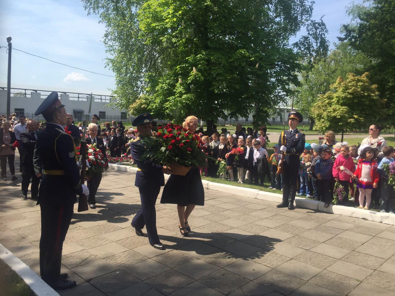 В Червонозаводском районе почтили память погибших во Второй мировой войне