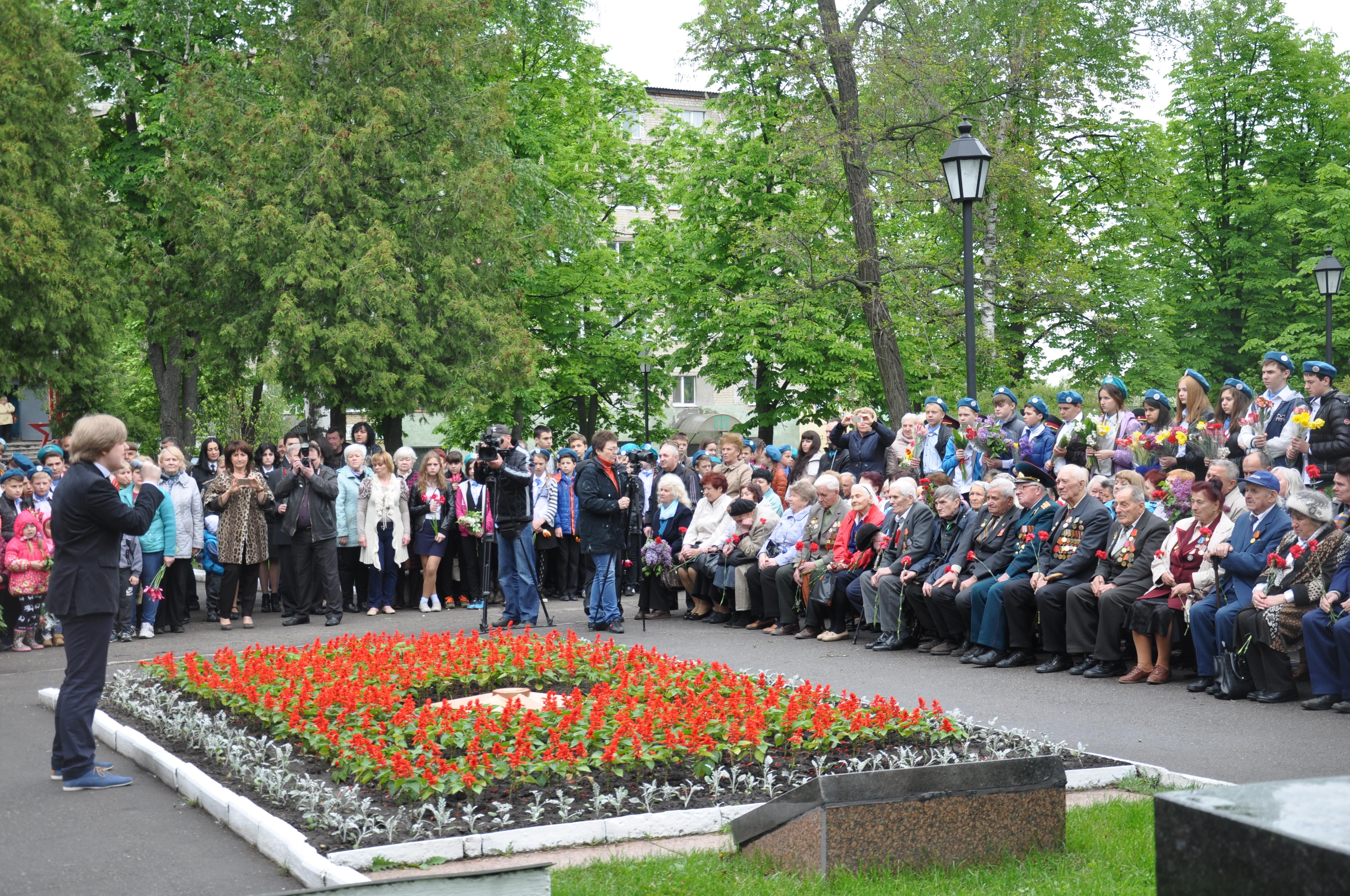 В Октябрьском районе почтили память погибших во Второй мировой войне