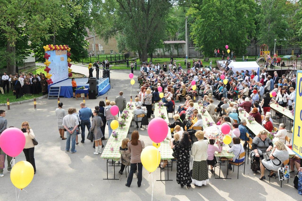 В сквере Тиволи прошел концерт для ветеранов