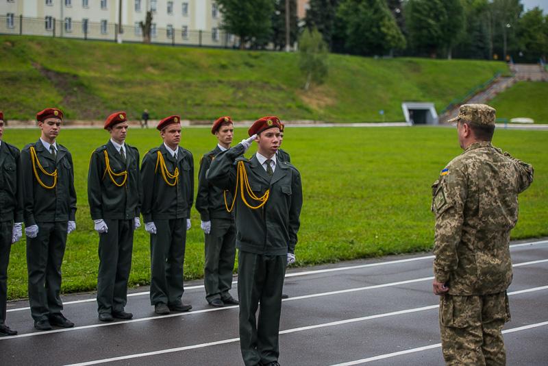 В Харькове проходит военно-спортивная игра «Патриот»