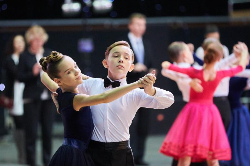 В Харькове проходит международный фестиваль по спортивным танцам