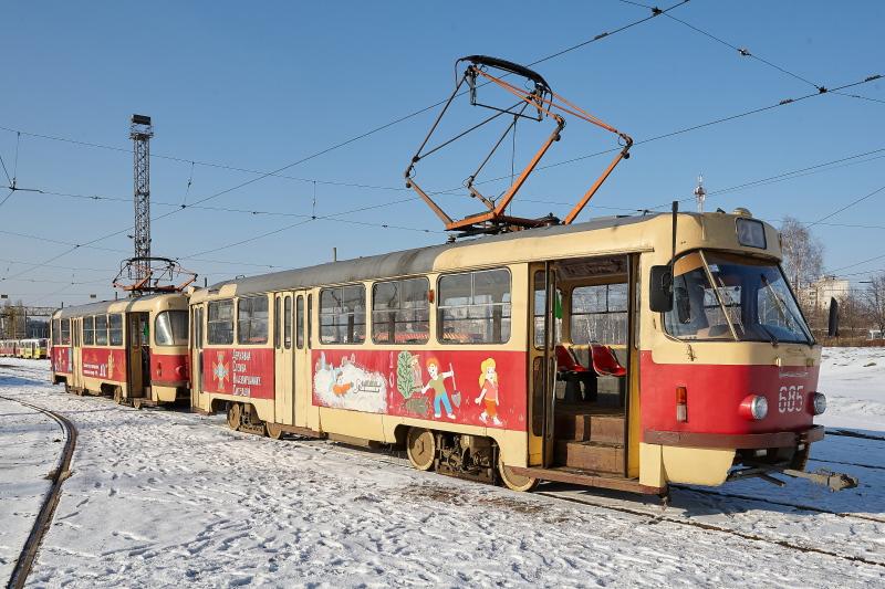 Харковом курсуватиме «рятувальний» трамвай