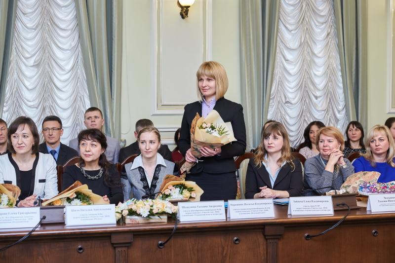 Нагороджено лауреатів і переможців конкурсу «Учитель року»