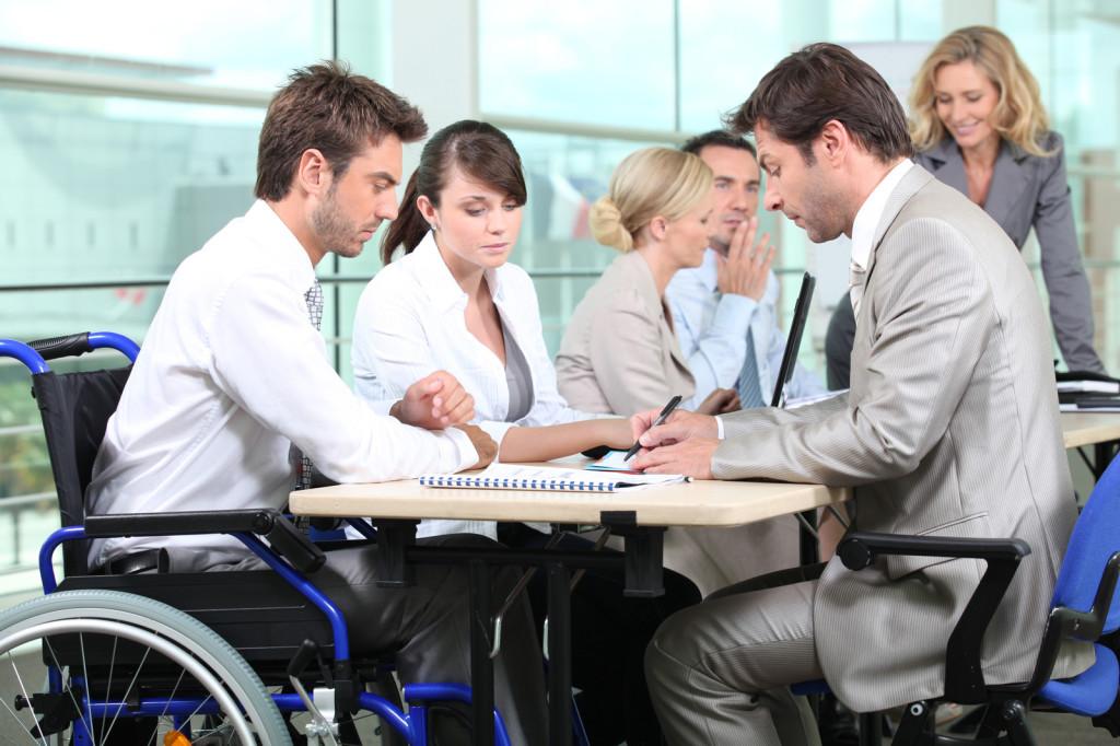 У міському центрі зайнятості створюють коворкінг для людей з інвалідністю