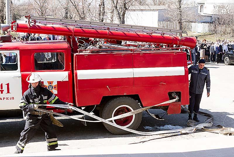 У школі в Основ'янському районі провели протипожежні навчання
