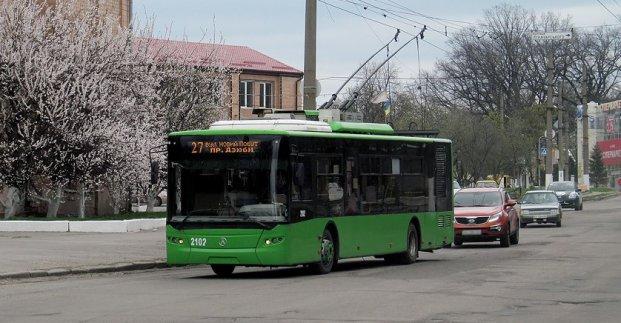 Тролейбус №27 тимчасово змінить маршрут руху