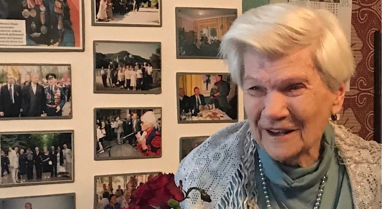 Учасник Другої світової Маргарита Судакова відсвяткувала 90-річчя