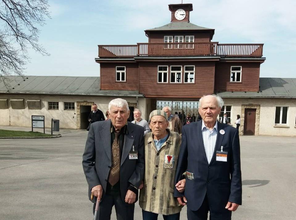 Харків'янин Борис Романченко відвідав Бухенвальд у річницю визволення  в'язнів концтабору