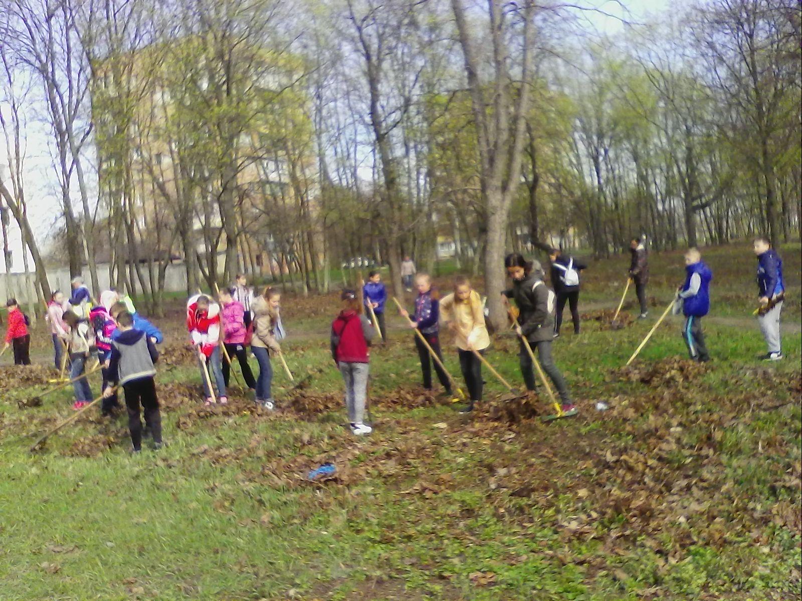 У Слобідському районі прибрали понад 80 гектарів території