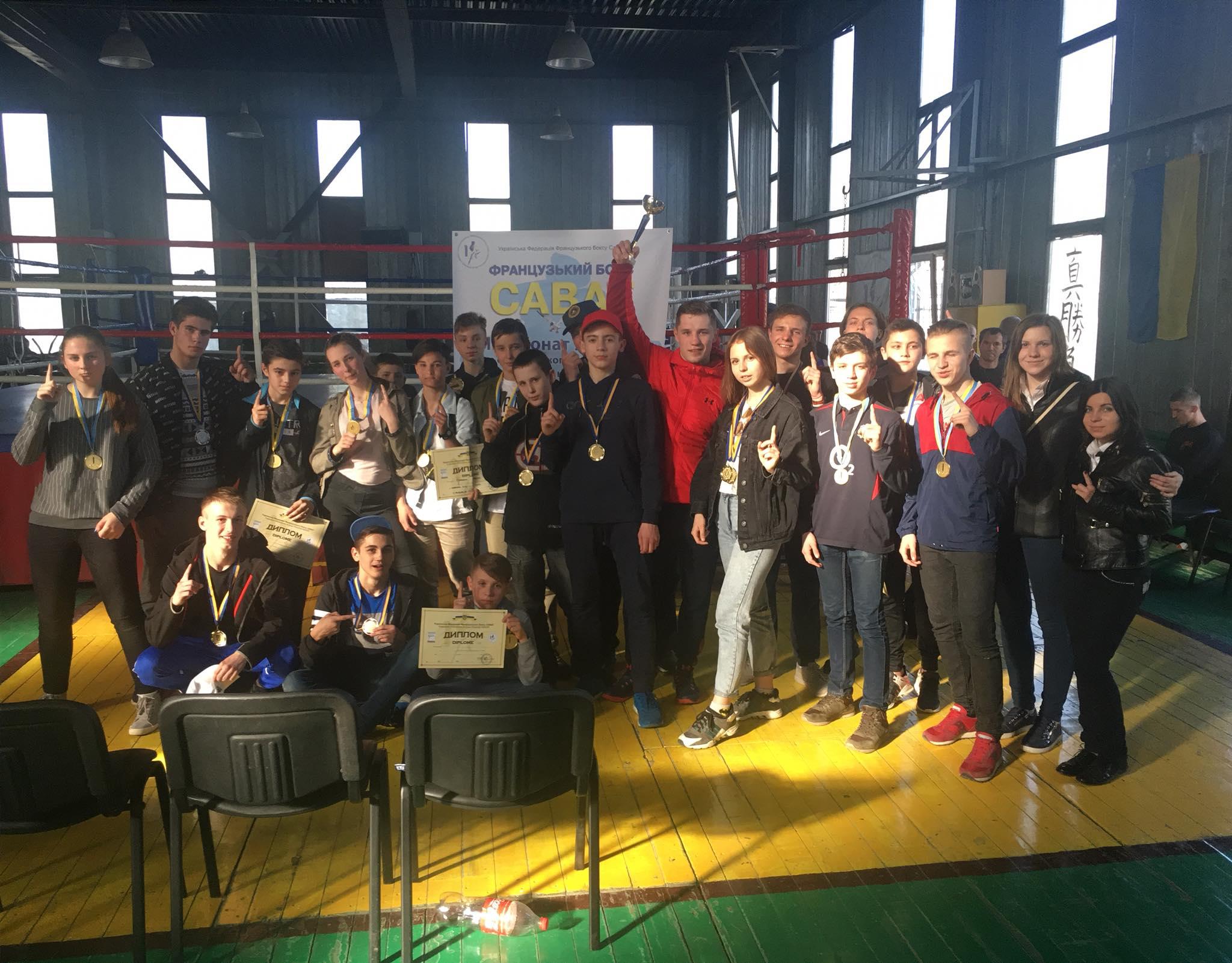 Харків'яни успішно виступили на чемпіонаті України з французького боксу