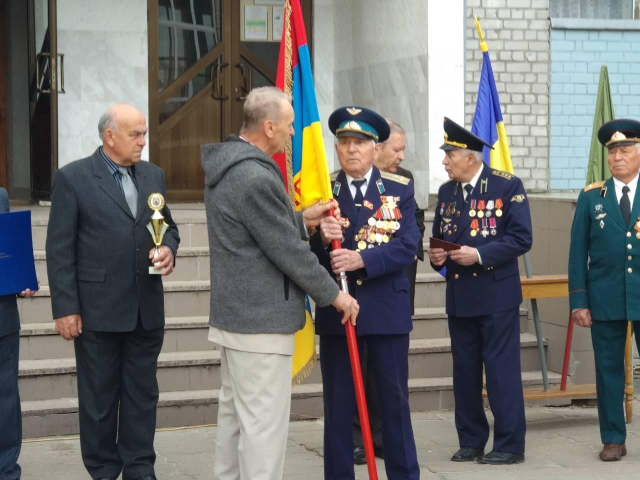 Ветерани Основ'янського району прийняли естафету пам'яті