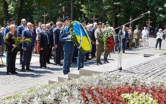 У Харкові вшанували пам'ять польських офіцерів