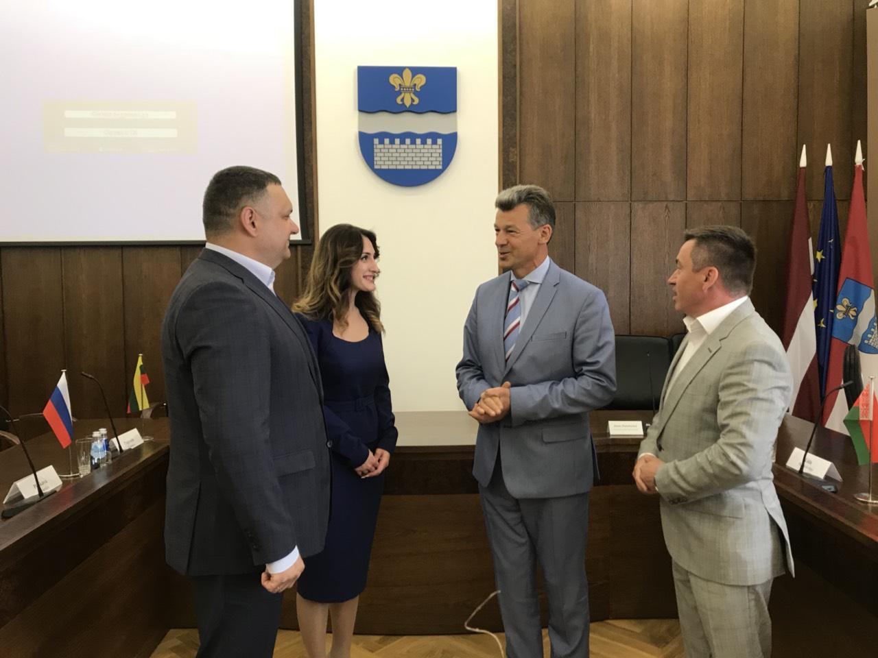 Харків'яни привітали місто-побратим Даугавпілс з днем заснування