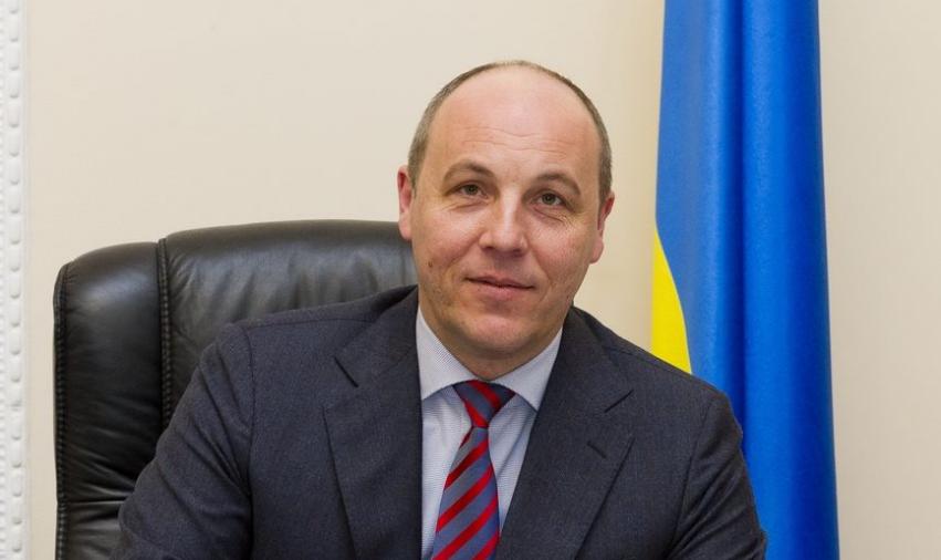 Голова Верховної Ради привітав Геннадія Кернеса з днем народження