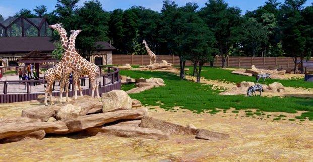 Реконструкцію Харківського зоопарку планують завершити через два роки