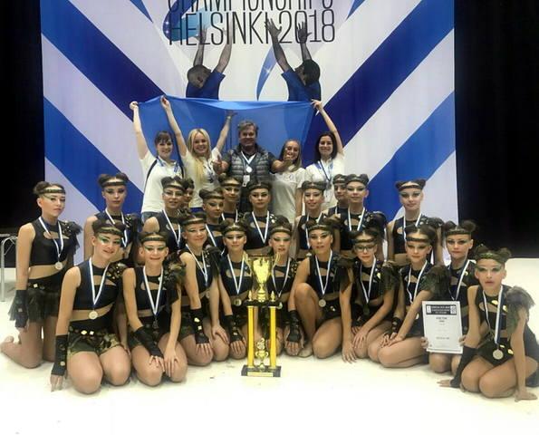 Харків'янки стали срібними призерами чемпіонату Європи з черлідингу