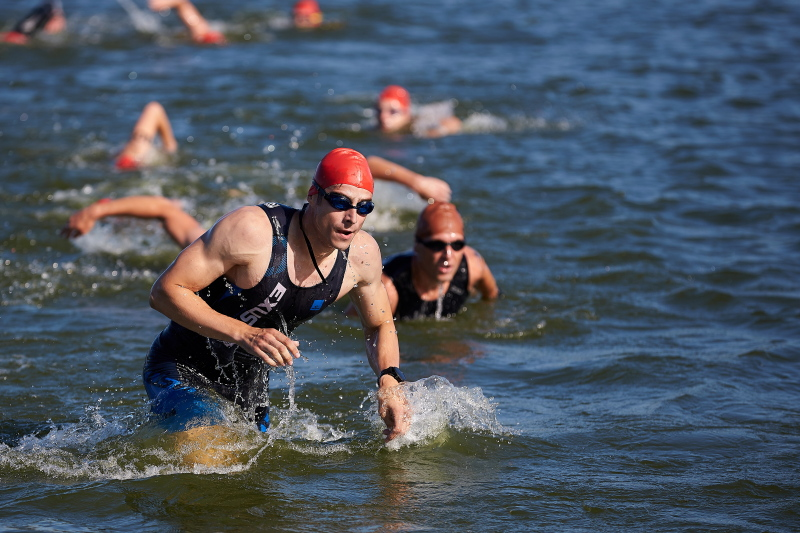 У Харкові пройшли відкриті змагання з триатлону