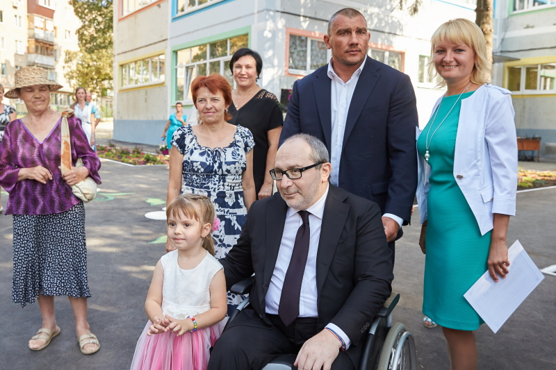 Геннадій Кернес відкрив дитячий сад на Салтівці