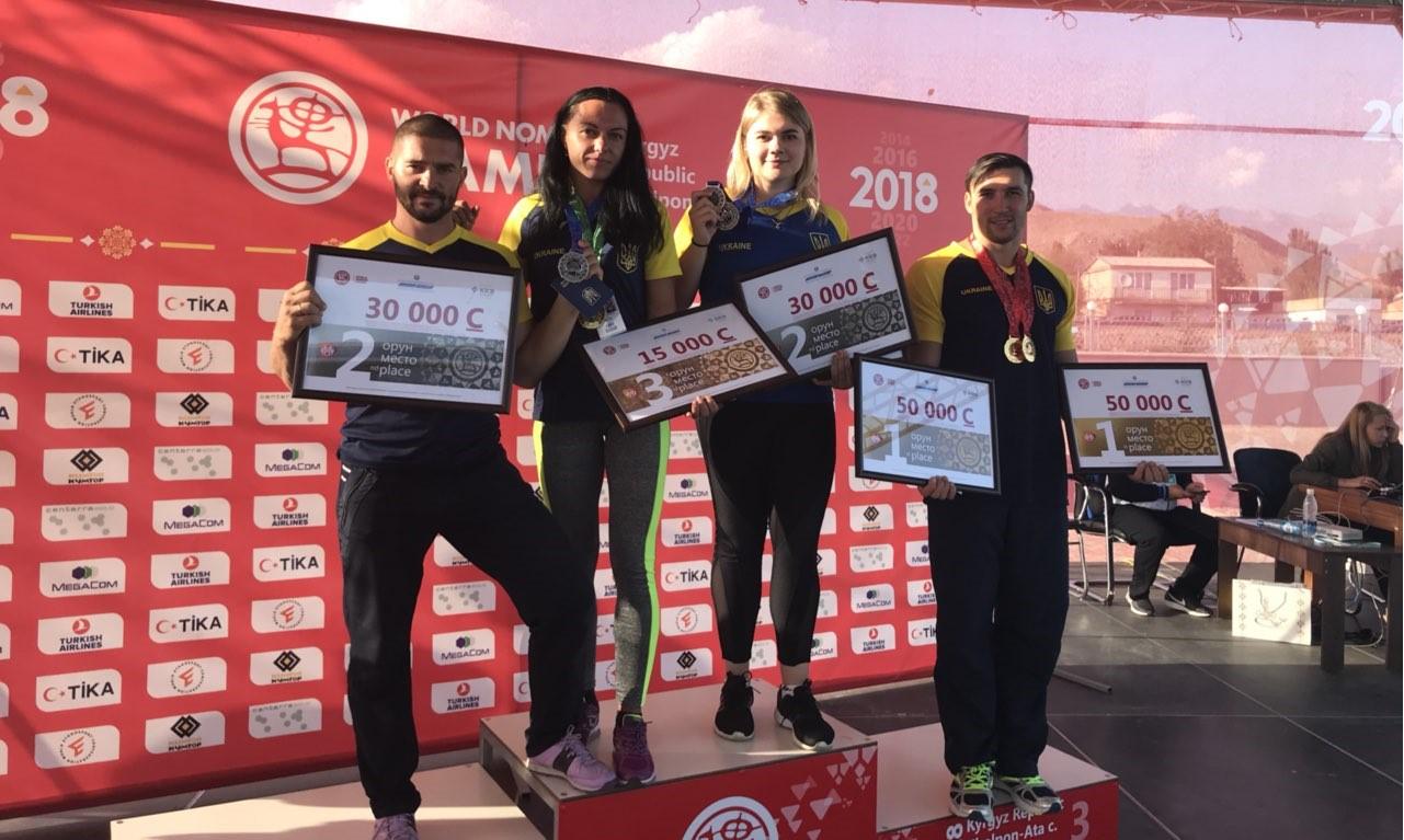 Харківські армрестлери завоювали медалі Всесвітніх ігор кочівників