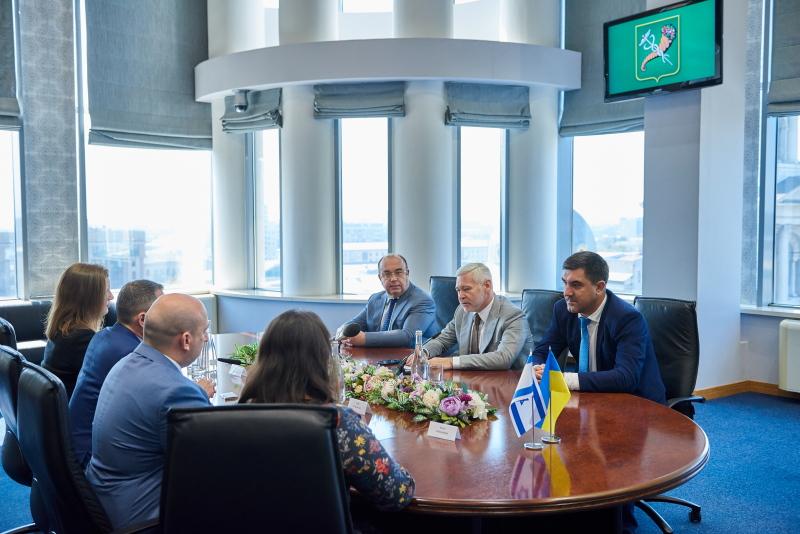 Харків продовжить співпрацю з Ізраїлем