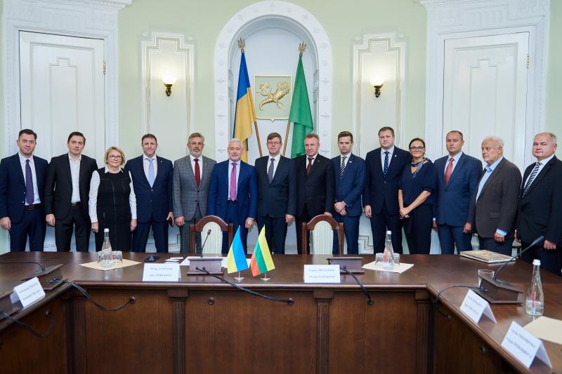 Харків і Литва можуть співпрацювати у сфері медицини і високих технологій