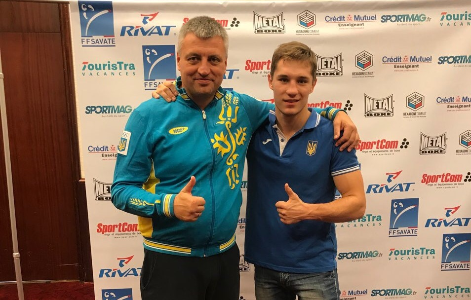 Харків'янин нокаутував чемпіона світу з французького боксу