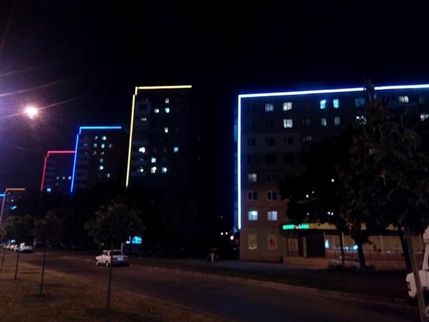 У Харкові встановили архітектурне підсвічування більш ніж на 20 будинках