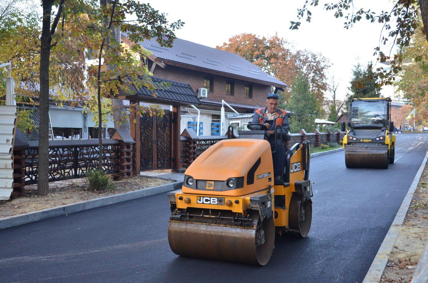 Реконструкція саду Шевченка триває