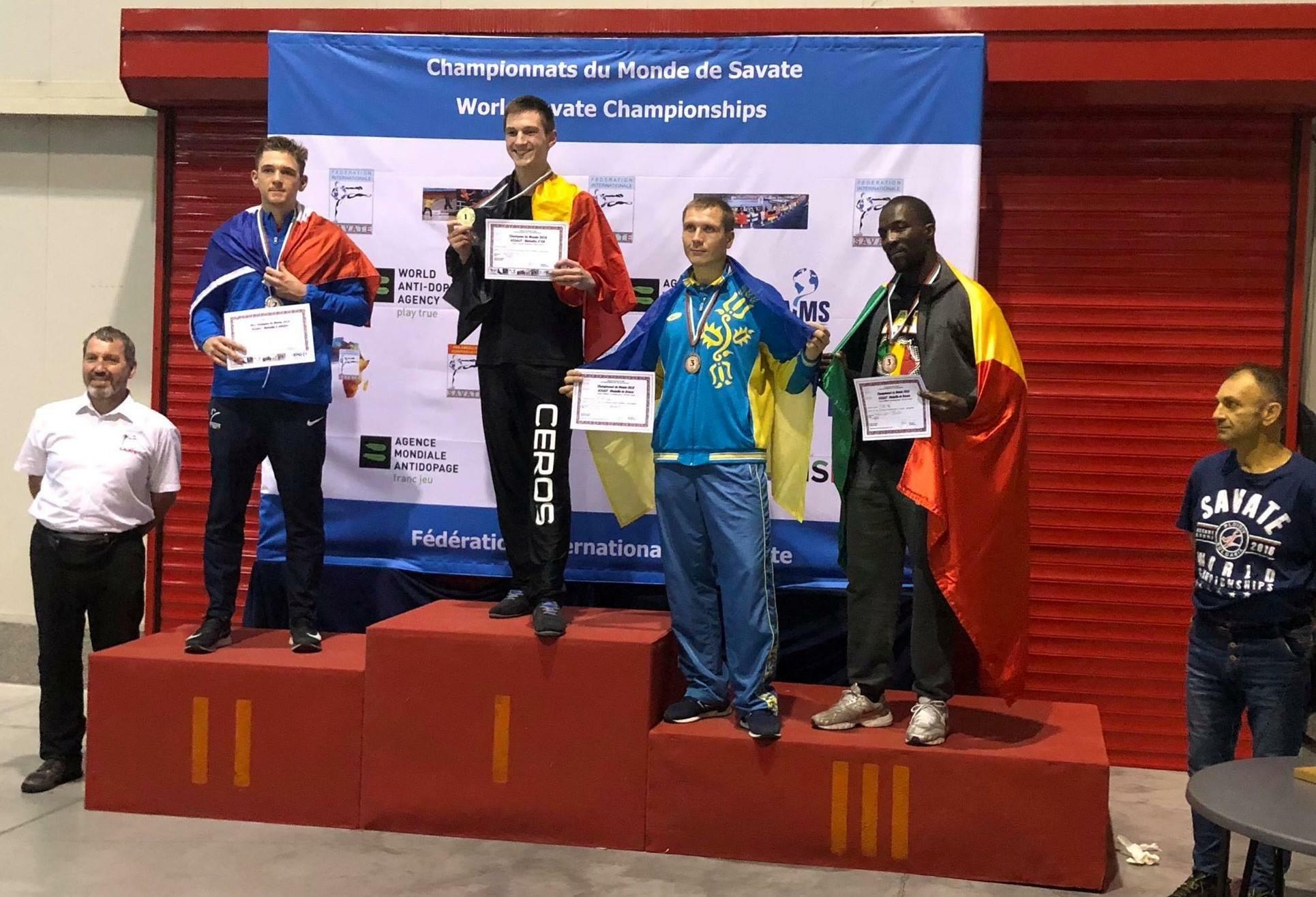 Харків'янин став призером чемпіонату світу з савату