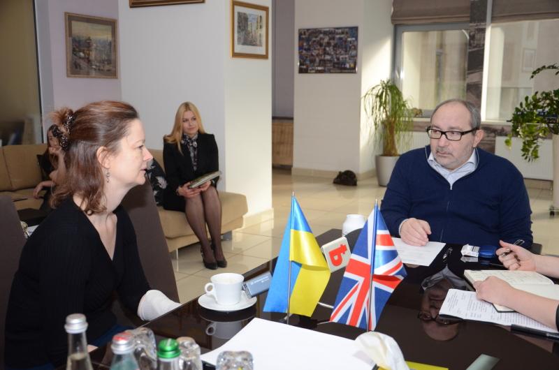 Геннадій Кернес зустрівся з віце-послом Великої Британії