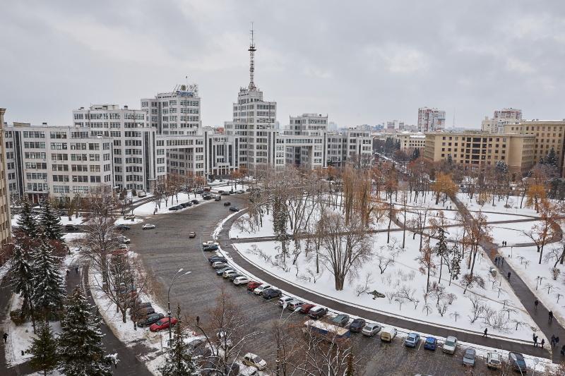 На вихідних в Харкові - сніг з дощем