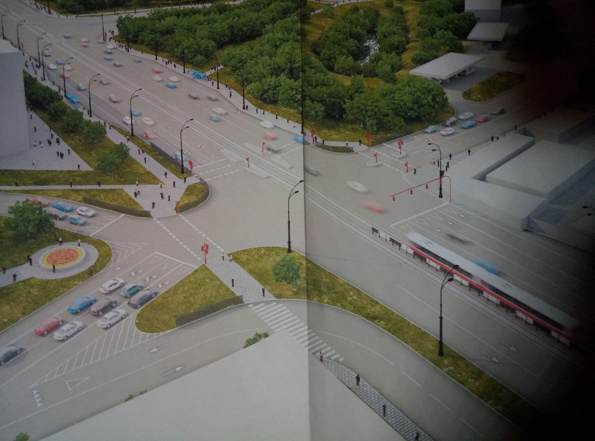 На перетині проспекту Московського і вулиці Польової убезпечать рух транспорту і пішоходів