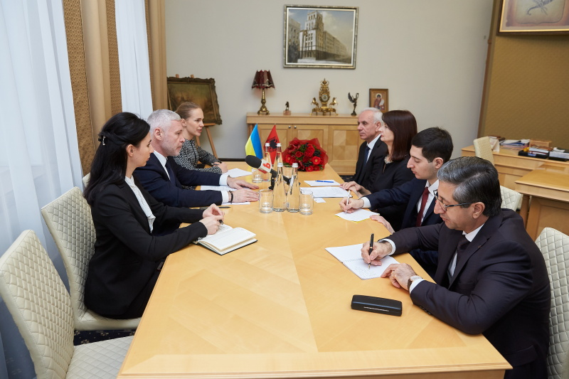 Харків і Албанія розвивають співробітництво